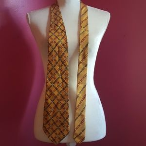 Fendi Logo Silk Tie
